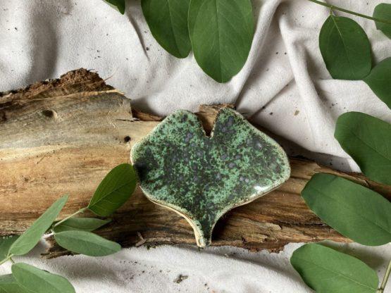 ceramiczny liść