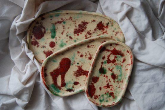 talerze ceramiczne