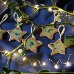 ceramiczne gwiazdki