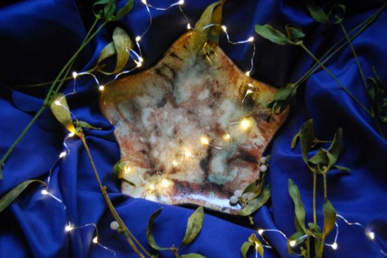 ceramiczna gwiazda