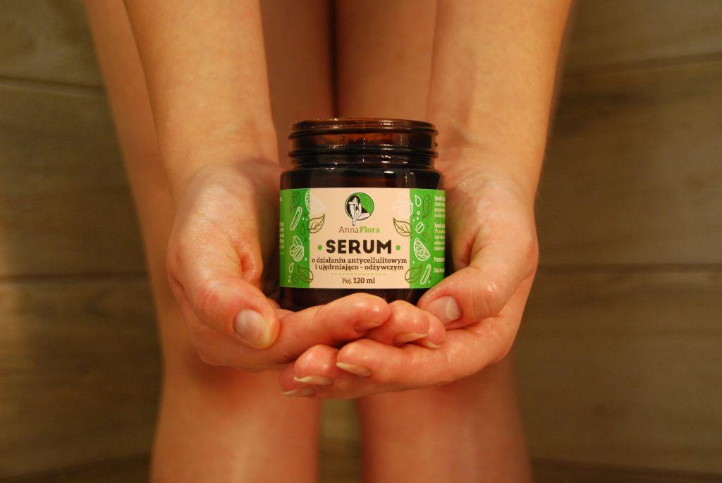serum o działaniu antycellulitowym i ujędrniająco-odżywczym
