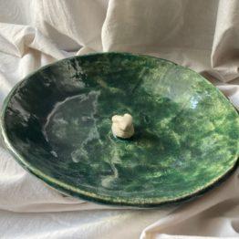 ceramiczna miska z zającem
