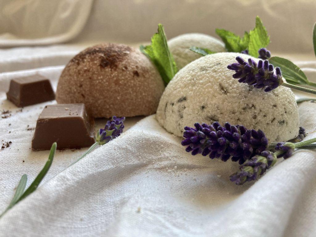 nawyki pielęgnacyjne - półkule kąpielowe