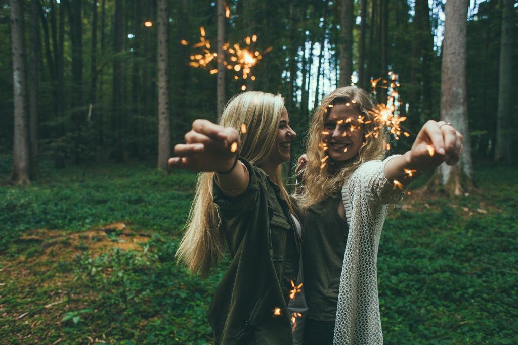 kobiety z zimnym ogniem